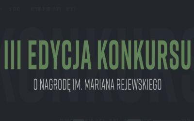 Odnośnik do Konkurs Ministerstwa Obrony Narodowej o nagrodę im. Mariana Reje
