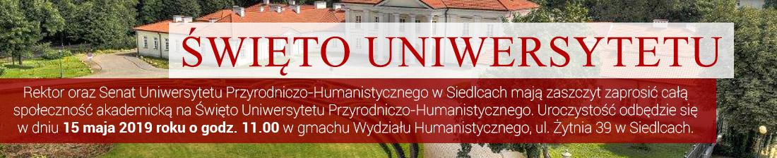 Święto Uniwersytetu Przyrodniczo-Humanistycznego
