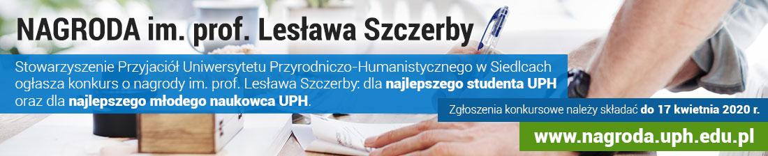 Nagroda im. prof. Lesława Szczerby