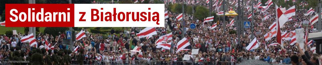 Solidarni z Białorusią