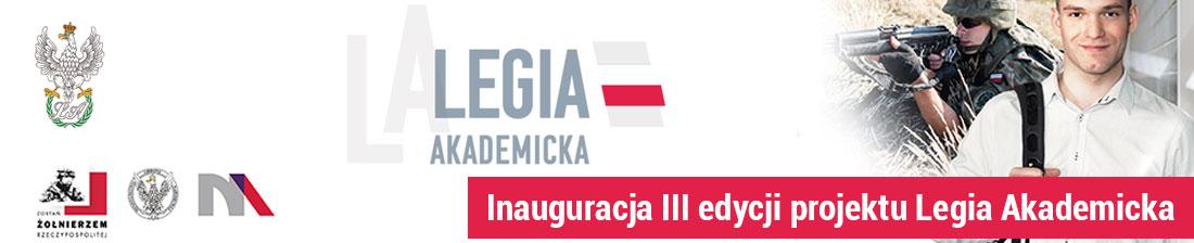 Inauguracja III edycji projektu Legia Akademicka