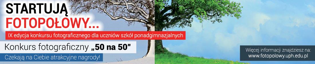 """IX edycja konkursu Fotopołowy """"50 na 50"""""""